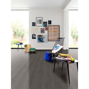 Dark Grey Toulon Oak Matt Waterproof Luxury Vinyl Click Flooring 2.16 m² Pack