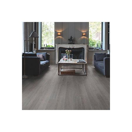 Quick Step Paso Dark Grey Oak Effect Waterproof Luxury Vinyl