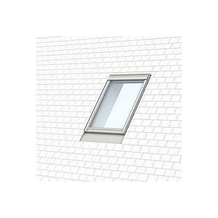 velux grey single window recessed slate flashing h 1180mm. Black Bedroom Furniture Sets. Home Design Ideas
