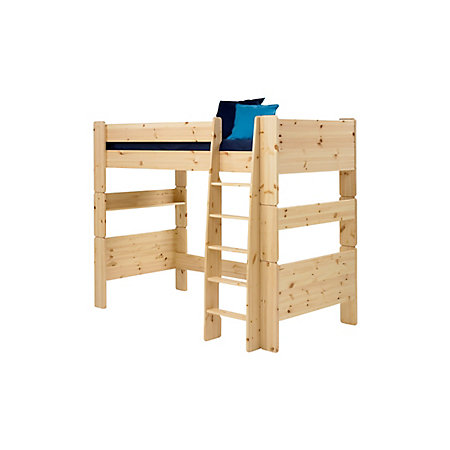Wizard Pine effect High sleeper bed   Departments   DIY at B&Q
