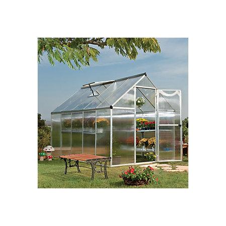 Palram Mythos 6x10 Polycarbonate greenhouse | Departments | DIY at B&Q