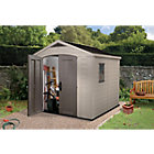 8x8 Factor Apex Plastic Shed Best Price, Cheapest Prices