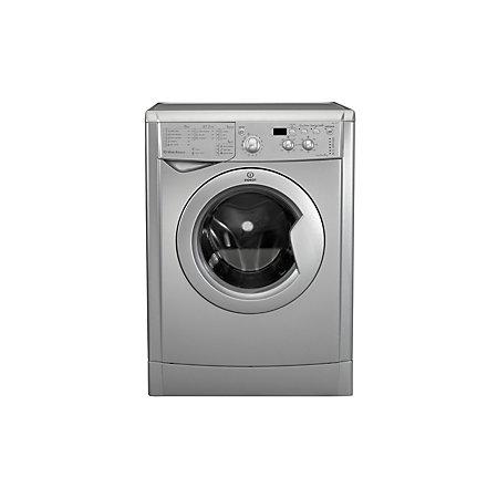 indesit iwd71251secouk silver freestanding washing machine. Black Bedroom Furniture Sets. Home Design Ideas