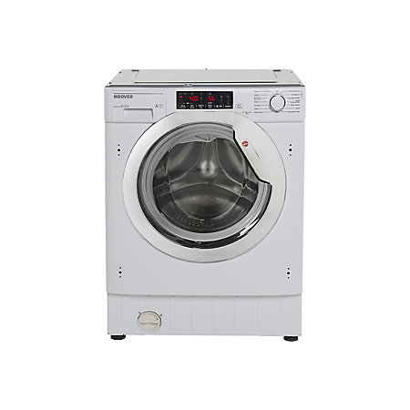 Hoover Hbwmo 96tahc 80 White Built In Washing Machine 9kg Departments Diy At B Q