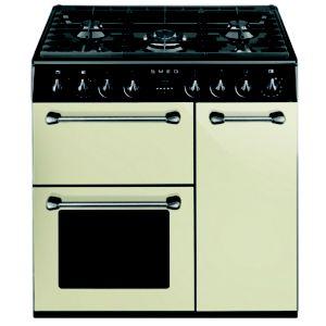 Smeg Kitchen Dual Fuel Cooker with Gas Hob  BM93P