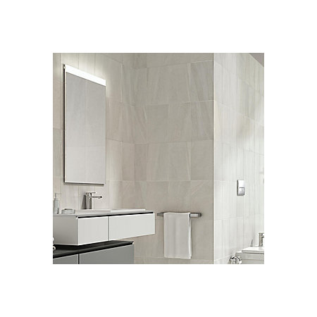 Fiji White Matt Stone Effect Ceramic Wall Tile Pack Of 10 L 400mm W 250mm Departments Diy At B Q