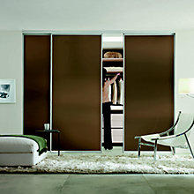 Double-sided made to measure sliding doors