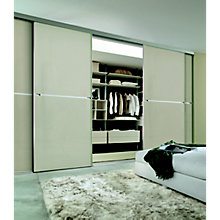 Minimalist made to measure sliding doors