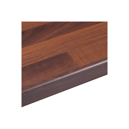 38mm Walnut Butchers Block Laminate Wood Effect Round Edge ...