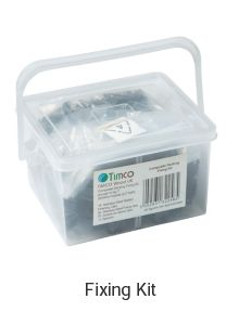 Ebony Composite Deckboard image 6 Fixing Kit