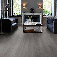 Quick-step Paso Smokey oak Wood effect Luxury vinyl click Flooring, 2.128m² Pack of 9