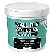 Ready mixed White Wall tile Tile adhesive & grout, 1kg