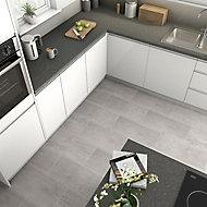 Reclaimed Grey Matt Concrete effect Porcelain Floor Tile Sample