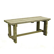 Refectory Wooden Fixed Table