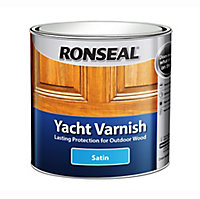 Ronseal Clear Satin Wood varnish, 1L