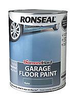 Ronseal Diamond hard Slate Satin Garage floor paint, 5