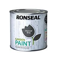 Ronseal Garden Charcoal grey Matt Metal & wood paint, 250ml