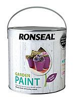 Ronseal Garden Purple berry Matt Metal & wood paint, 2.5L