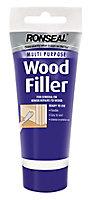 Ronseal Multi purpose Natural Ready mixed Wood Filler 100g