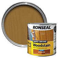 Ronseal Natural oak Satin Wood stain, 2.5