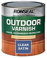 Ronseal Satin Wood varnish, 0.75L