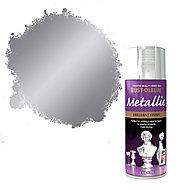 Rust-Oleum Chrome effect Multi-surface Spray paint, 400ml