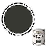 Rust-Oleum Natural charcoal Flat matt Furniture paint, 0.75L