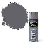 Rust-Oleum Painter's touch Dark grey Gloss Multi-surface Decorative spray paint, 400ml