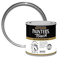 Rust-Oleum Painter's touch White Satin Multi-surface paint, 250ml