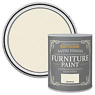 Rust-Oleum Shortbread Satin Furniture paint, 0.75L