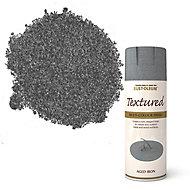 Rust-Oleum Stone Aged iron Textured effect Multi-surface Spray paint, 400ml