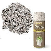 Rust-Oleum Stone Pebble Textured effect Multi-surface Spray paint, 400ml