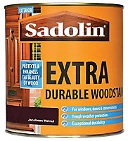 Sadolin Jacobean walnut Conservatories, doors & windows Wood stain, 1L