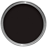 Sandtex Ultra smooth Black Smooth Masonry paint, 2.5L