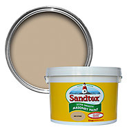 Sandtex Ultra smooth Mid stone Masonry paint, 10L