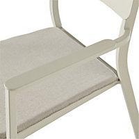 Santorin Sand Metal Armchair