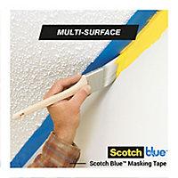 ScotchBlue Blue Masking Tape (L)41m (W)48mm, Pack of 3
