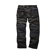 "Scruffs Black Men's Multi-pocket trousers, W36"" L32"""