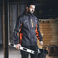 Scruffs Black Unisex Jacket, Medium