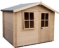 Shire Hartley 7x7 Apex Tongue & groove Wooden Cabin