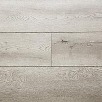 Showhome Grey Wood effect Luxury vinyl click flooring, 2.42m² Pack