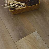Showhome Natural oak Wood effect Luxury vinyl click flooring, 2.42m² Pack