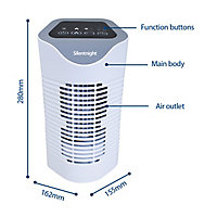 Silentnight Single use only Unscented Air purifier