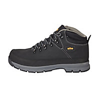 Site Bronzite Unisex Black & charcoal grey Safety boots, Size 11