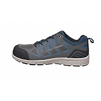 Site Crater Grey Safety trainers, Size 8