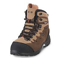 Site Elbert Brown Trainer boots, Size 10