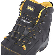 Site Fortress Men's Black Safety boots, Size 7