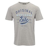 Site Graphic Grey T-shirt Large