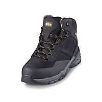 Site Magma Men's Black Safety boots, Size 10