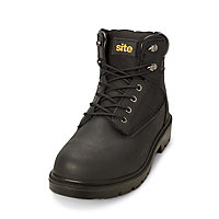 Site Marble Men's Black Safety boots, Size 9